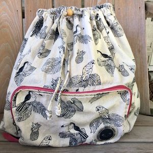 Roxy pack it up backpack bag tote beach bag purse